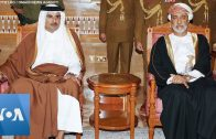 Leaders-Including-Emir-of-Qatar-British-PM-Johnson-Pay-Respects-in-Oman-After-Sultans-Death