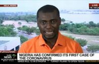 Update on coronavirus case in Nigeria: Phil Ihaza